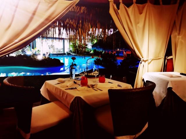 Restaurant Le Pitaya Table Romantique sous le carbet